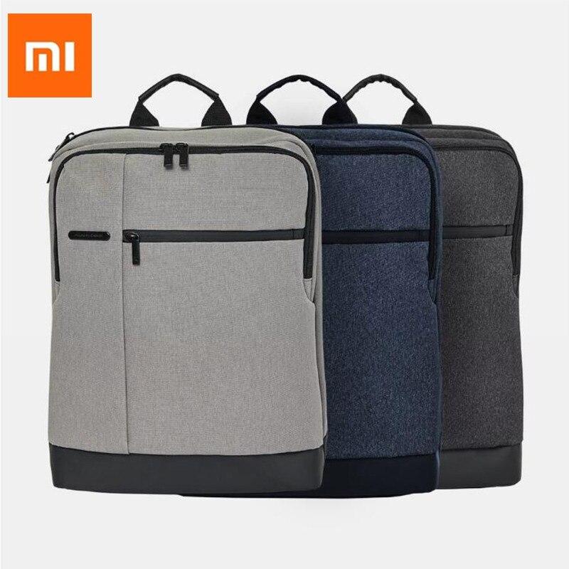 Xiaomi 90FUN Klassische Wasserdichte 15,6 zoll laptop rucksack männer rucksäcke für teenager mädchen reise rucksack tasche frauen männlichen H30-in Taschen aus Verbraucherelektronik bei  Gruppe 1