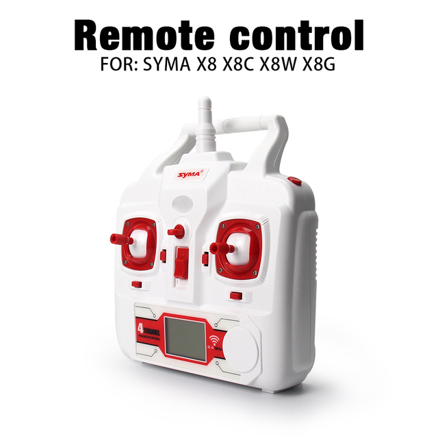 Syma X8 X8C X8W X8G Quadrocopter Remote control X8C spare parts RC Helicopters Drone 6-axis X8A UAV Accessories Aircraft