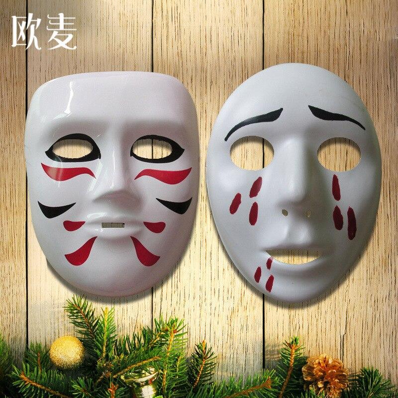 Кошка маска Хэллоуин Halloween Horror маска Аниме show украшения бар реквизит окружающей ПВХ
