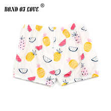 купить Fruit Printed Casual Kids Trousers Children Pants For Baby Boys Summer Beach Loose Shorts Fluffy Soft Comfortable Shorts Clothes по цене 193.44 рублей