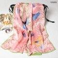 105 Серии 22 цвета 170x52 см Оптовая 2017 Последним Muberry Шелковые Шарфы, креп-сатин равнина прямоугольник шарф, мусульманский Хиджаб