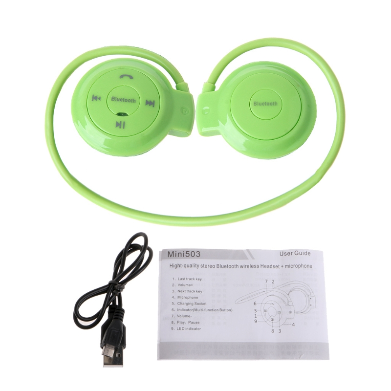 <font><b>Mini</b></font> <font><b>503</b></font> Ear Hook Wireless <font><b>Bluetooth</b></font> Headset Sports Headphone TF Slot MP3 Player &#8211; L060 New hot
