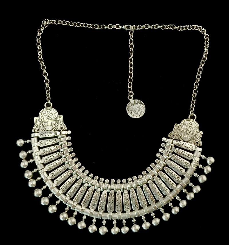 Bohemian silver coin necklace set indian bridal jewelry set turkish bohemian silver coin necklace set indian bridal jewelry set turkish gypsy boho coachella beach choker bib necklace bracelet set in jewelry sets from aloadofball Gallery
