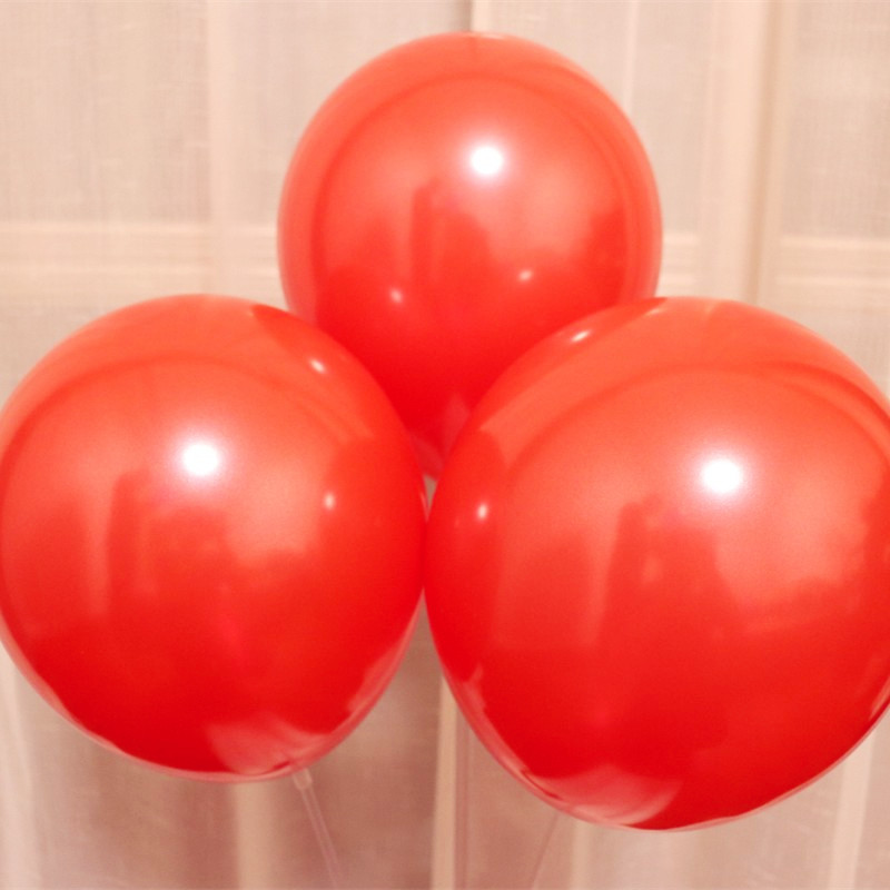 air ball 100pcs lot pink latex balloon 1 5g 10inch adult decorations wedding ballons birthday balloons for boys anniversaire in Ballons Accessories from Home Garden