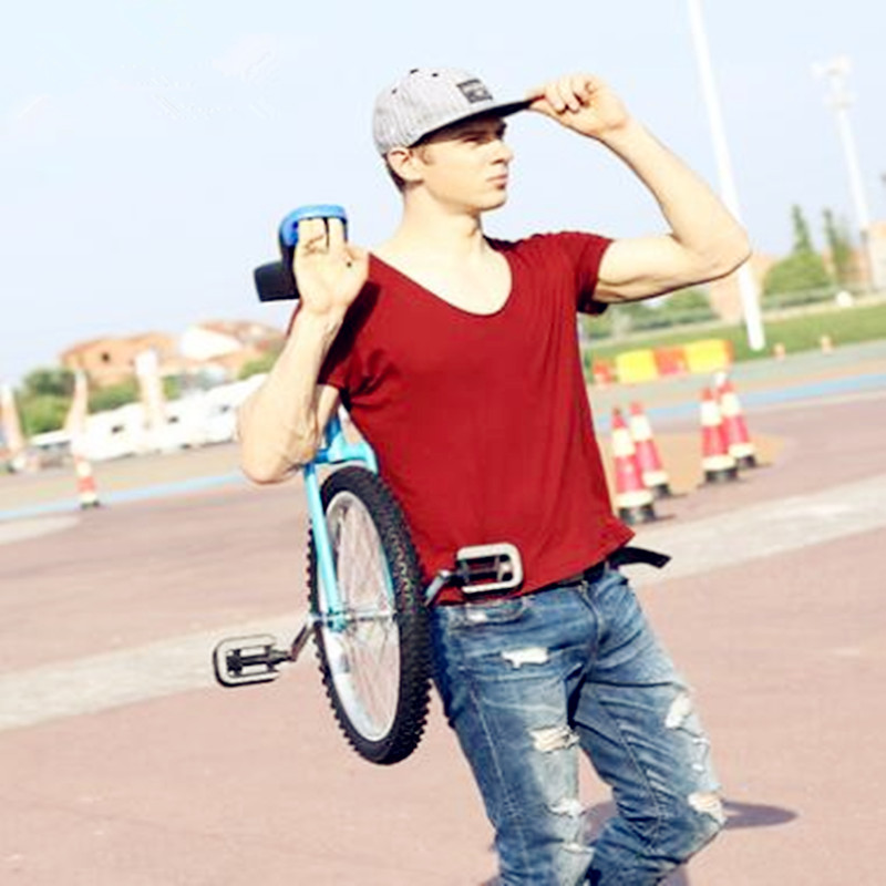 2019 New Single Wheel Children's  Educational Balance  Swing Bicycle Adjustable Height Adult Competitive  Travel  Fitness Bike