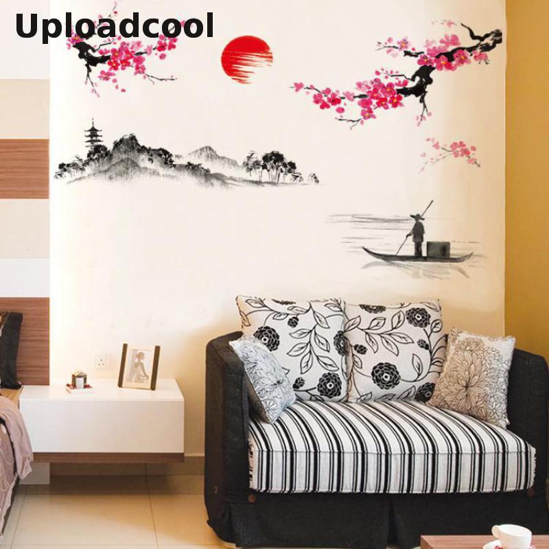 uploadcool nuevas pegatinas de pared puede ser eliminado en el dormitorio sala de estar decoracin