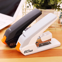 DELI Heavy Duty Stapler Large Arm Thickening Metal Office Staplers Stapling 20/40/60 Sheets Labor Saving Office Binding Supplies