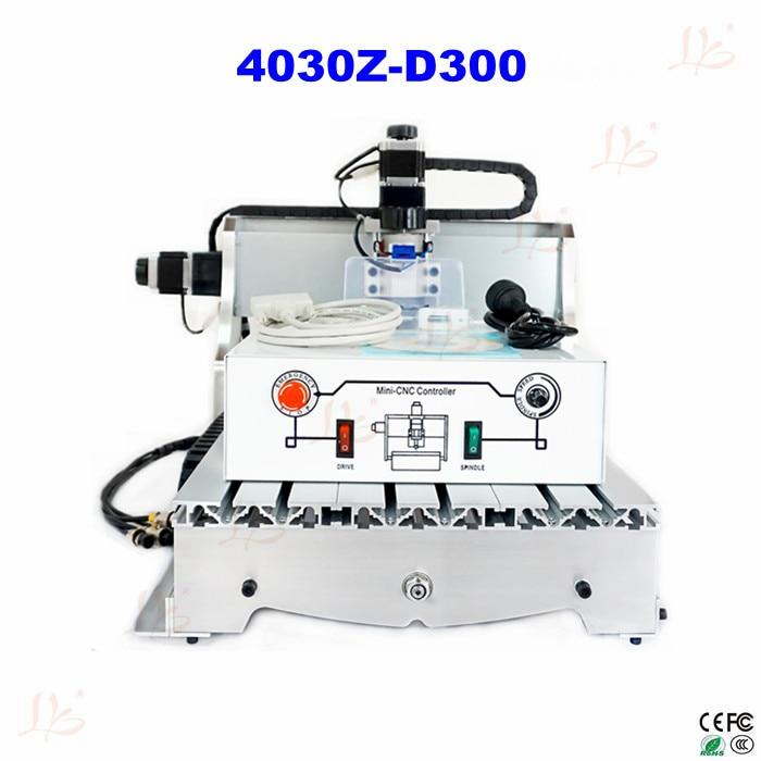 110V/220V CNC carving machine 4030 Z-D300 cnc milling machine mini CNC router for DIY eur free tax cnc 6040z frame of engraving and milling machine for diy cnc router
