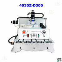 110V/220V CNC carving machine 4030 Z D300 cnc milling machine mini CNC router for DIY