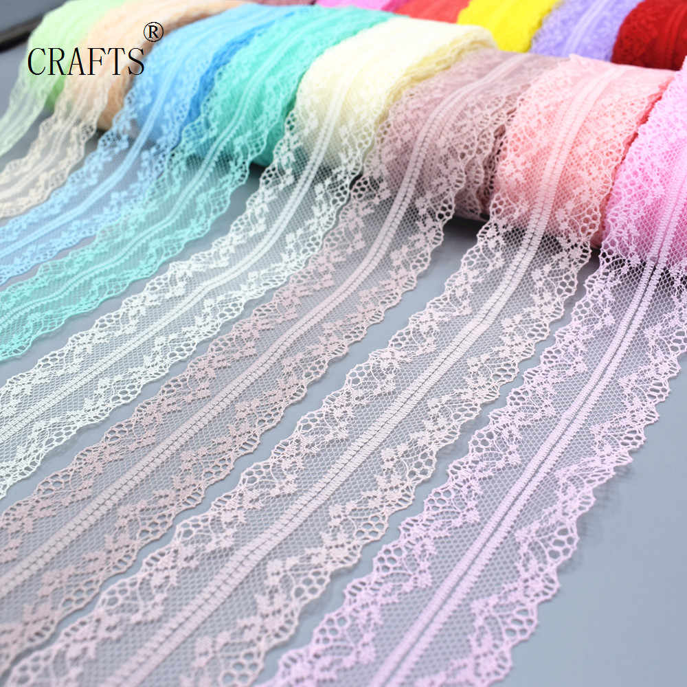 New!   10 yards  beautiful lace ribbon, 3.8 cm wide, DIY decoration accessories, holiday decorations