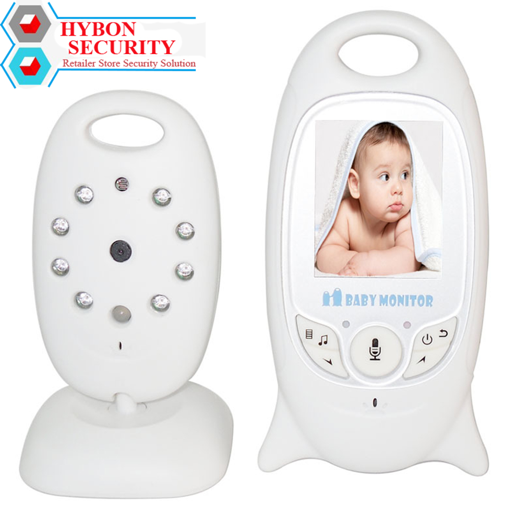 HYBON Baby Telefoon Camera Wireless Baby Alarm Baby Monitor 2.4 Electronic Security 2 Talk Nigh Vision Video Baby Monitor Record help your baby talk