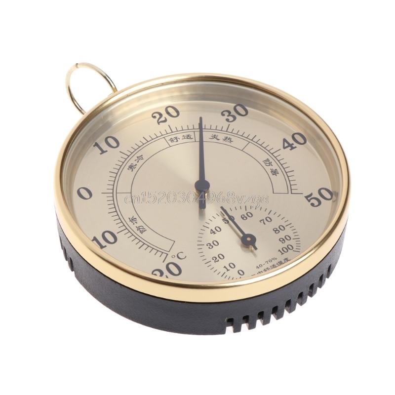 Ménage Pointeur Type Thermomètre Hygromètre Humidité Haute Précision Air Weather # H028 #