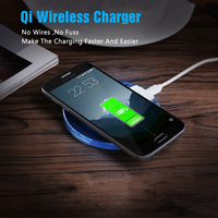 Micro USB Wireless Qi Fast Charger Charging Pad Receiver Kit Emitter Adapter For Samsung Galaxy S7