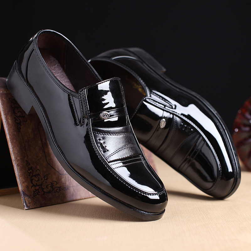 2018 New Fashion Style Designer Formal Mens Dress Shoes Genuine Leather Luxury Wedding Shoes Men Flats Office Shoes Lc5008 Men's Shoes
