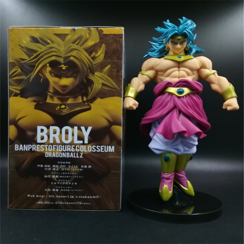 new Dragon Ball Z Super Saiyan Goku Son Gokou Broli Prince Vegeta Manga Trunks PVC Action Figure Model Collection Toy Gift (9)
