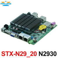 OEM Intel N2930 Quad Core Bay Trail 12 12 Mainboard Fanless Dual Lan Fanless Single Board