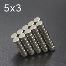 20/50/100/200Pcs 5x3 Neodymium Magnet 5mm x 3mm N35 NdFeB Small Round Super Powerful Strong Permanent Magnetic imanes Disc