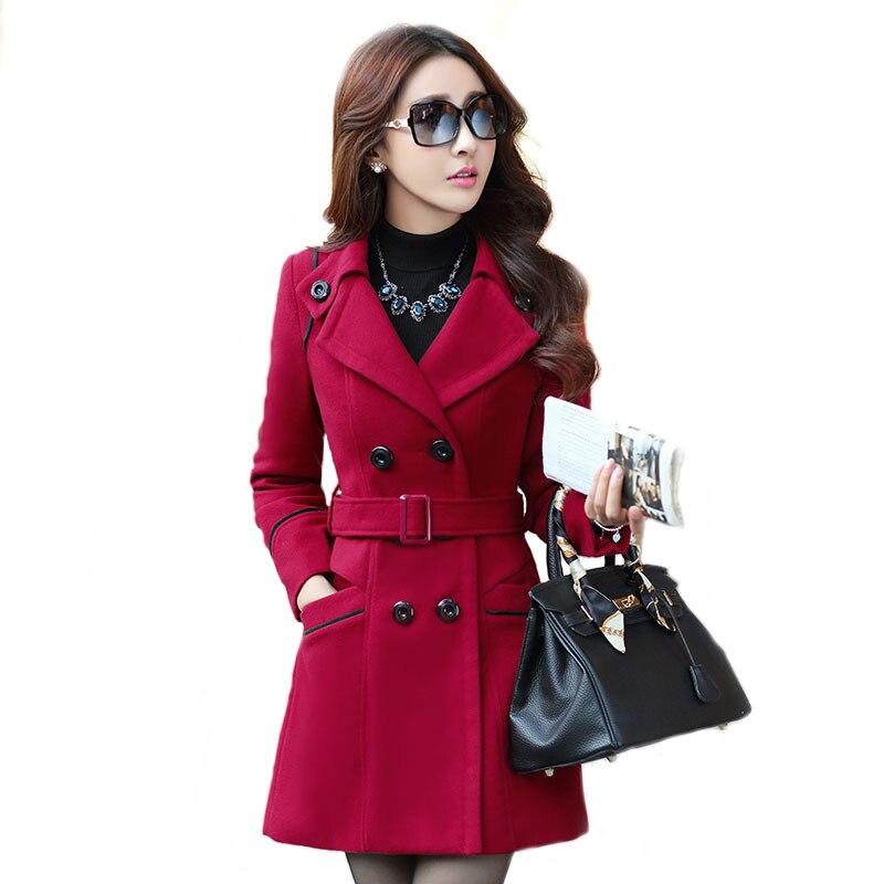Popular Ladies Red Wool Coats-Buy Cheap Ladies Red Wool Coats lots ...