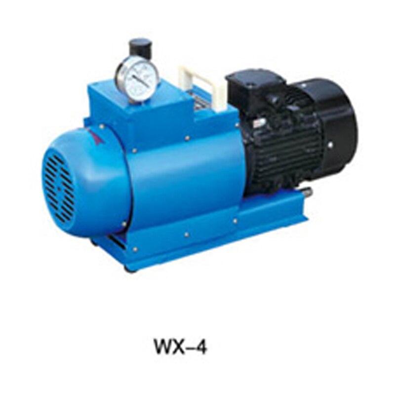 WX-4 AC380V 50 HZ 240L/min 0.55KW pompe à vide à palettes rotatives sans huile chine