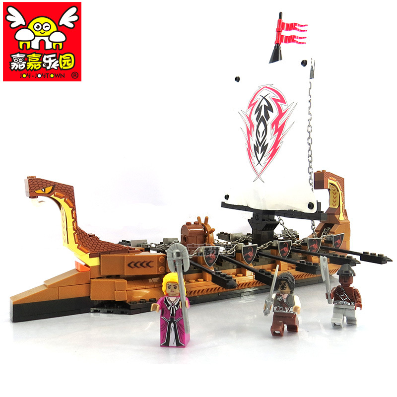 DIY Building blocks Pirates ship model compatible LegoINGly friends ship models kit Bricks Education Toys for Children Gift solar electronic building blocks children s electrical science and education diy toys christmas gift