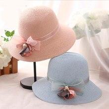 67f7fb04ba8 Fashion Lady Bucket Cap Hats for Summer Stylish Traveling Foldable Wide  Brim Beach Hats Women Summer