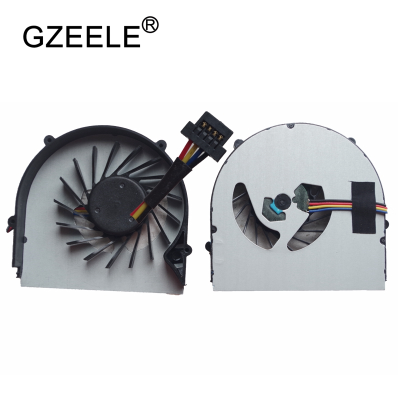 GZEELE NEW Laptop CPU Cooling Fan Cooler For LENOVO B560 B565 V560 V565 Z560 Good Quality Cooler Radiator Leaves 4 Pins Notebook