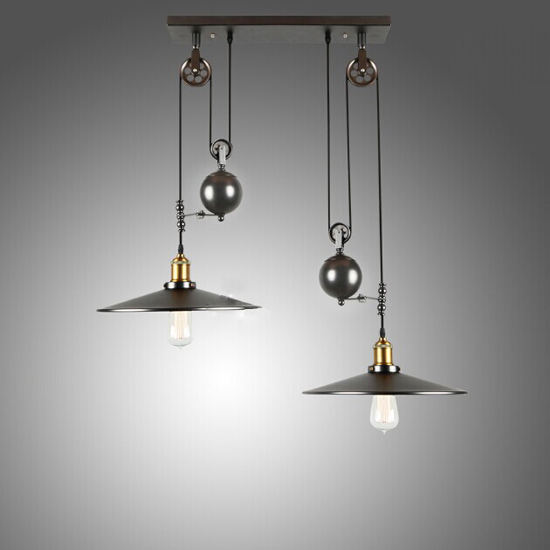 Aliexpresscom Buy Creative Industrial pendant lights  : Creative Industrial pendant lights vintage pendant lamp for bedroom dining room pulley pendant lamps home lighting from www.aliexpress.com size 800 x 800 jpeg 156kB