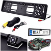 New Europe License Plate Frame 170 European Universla Car License Plate Frame Auto Reverse Rear View