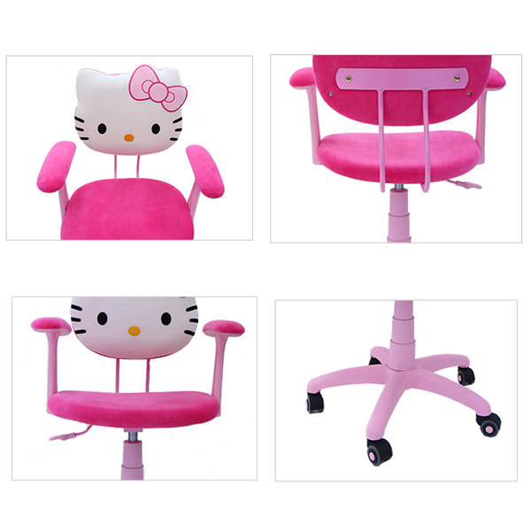 Hellokitty Chair Csk 009 Adjutable Arms Task Office For Childern Boy Pc Gaming Study Reading In Chairs From Furniture On