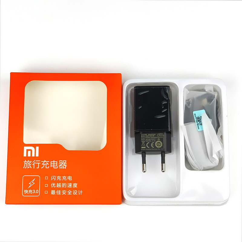 Image 2 - Original EU xiaomi mi6 Charger qc 3.0 Quick Charge adapter usb type C cable for mi 5 5s 6 8 se mi8 mi5 mi5s mix 2 2s a2 max 2 3-in Mobile Phone Chargers from Cellphones & Telecommunications