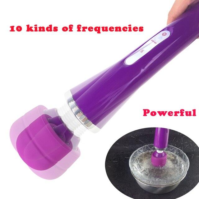 Huge magic wand vibrators for wome
