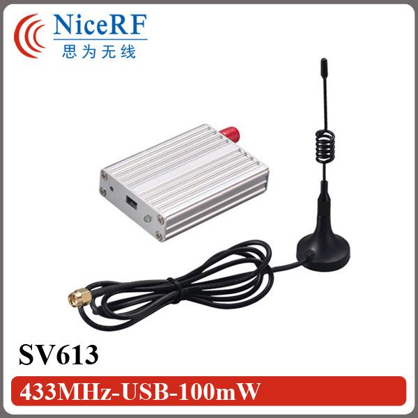 Bajo Costo y Personalizable 433 MHz Inalámbrico RF Módulo de Transceptor SV613