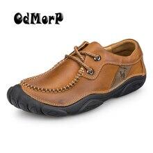Männer Schuhe Leder Wohnungen Hochwertigen Komfortable Weiche Schuhe Männer Oxfords Brown Luxus Schuhe Neue Frühling Chaussure Hommen