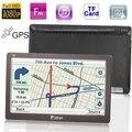 "Función Rader Detector GPS Navigator 7.0 ""Full HD 1080 P TFT Pantalla táctil de Apoyo Transmisor FM 8 GB de Memoria Tarjeta de TF y Mapa"