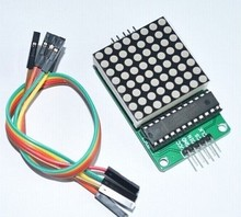 Max7219 dot matrix led module, modulo display a led, prodotti di controllo mcu kit per arduino