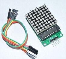 Max7219 דוט מטריקס מודול led, מודול תצוגת led, ערכת בקרת mcu מוצרי arduino
