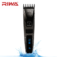 LCD Electric Hair Trimmer For Men Family Use Styling Tools Quick Charging Lithium Battery Rechargeable Hair Clippers Waterproof