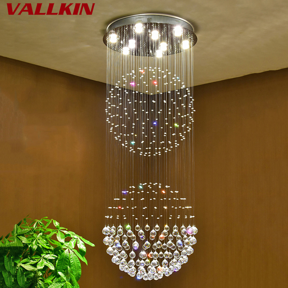 led lights for chandelier. Luxury Crystal Chandeliers Contemporary Lamp GU10 LED Lights Chandelier Hanging Bedroom Decoration Lamps-in From Led For B
