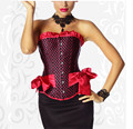 Free Shipping Plus Size Women Wedding Dress corsets and bustiers Corselet Red corset S M L XL XXL 3XL 4XL 5XL 6XL