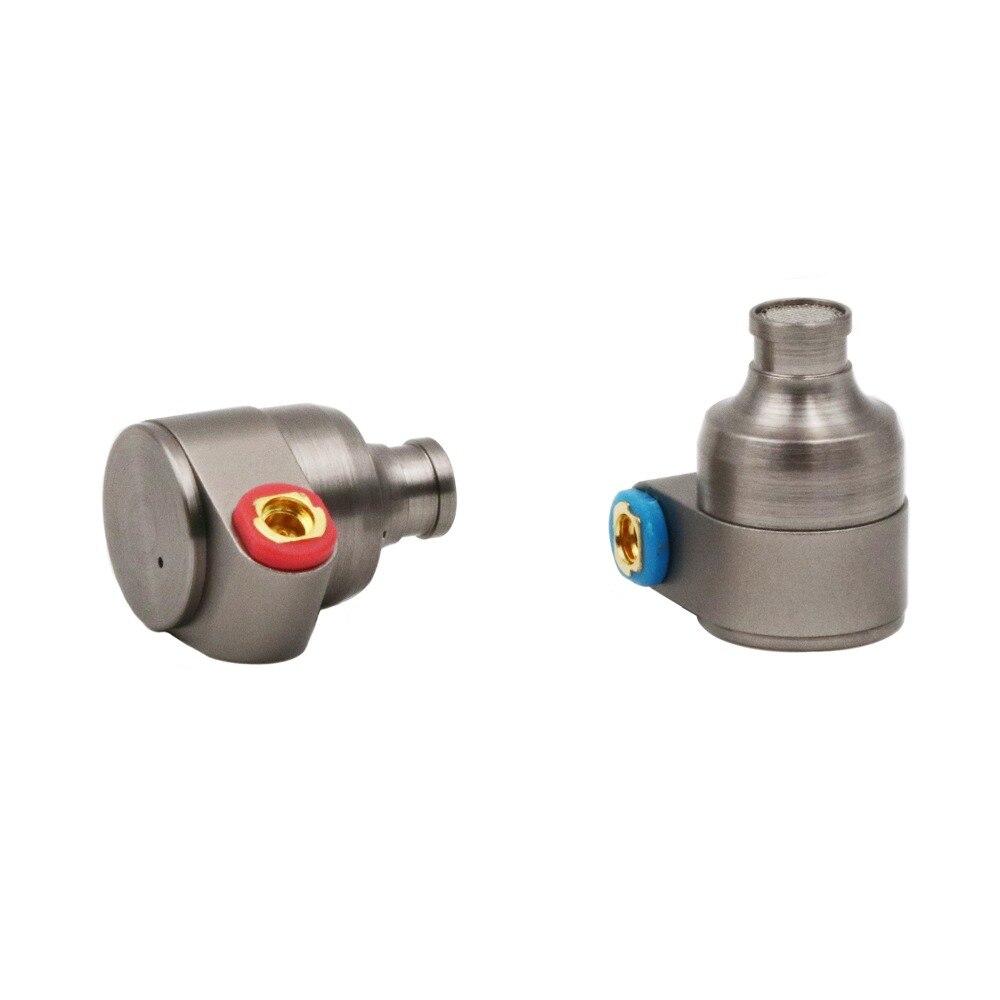 Latta Audio T2 Pro HiFi Dual 2DD Dinamico in-ear Auricolari con Design In Metallo, Staccabile MMCX Cavo, Auricolari In Schiuma
