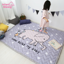 Infant Shining 140X200CM 55X78IN Play Mats 3CM Thickening Co