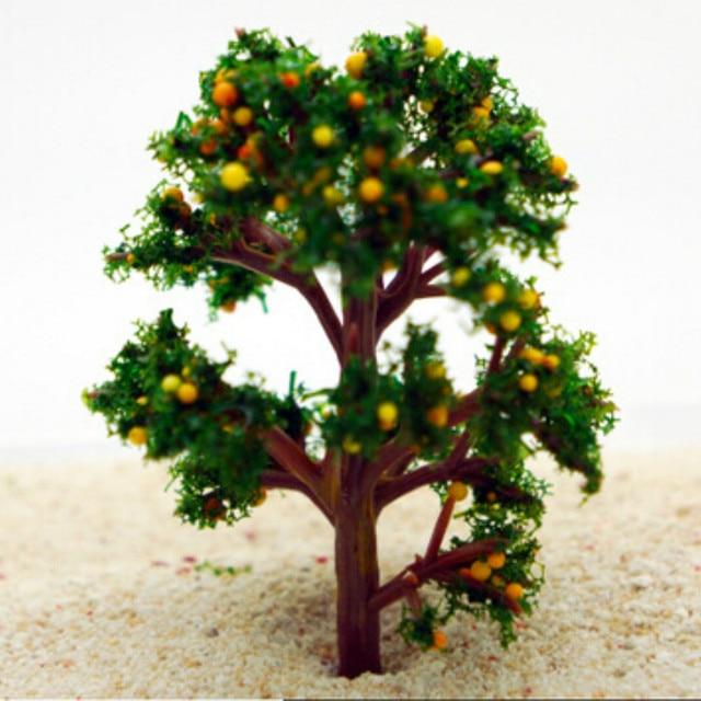 10Pcs/artificial Fruit Tree /miniatures/cute Plants/fairy Garden Gnome/moss