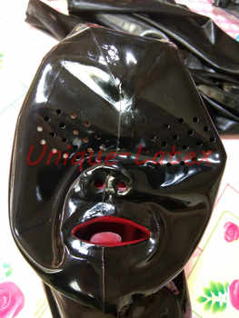 Latex Mask MESH EYES RED TEETH RED NOSE TUBE CUSTOMIZED - DISCOUNT ITEM  8% OFF All Category