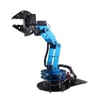 DIY 6DOF RC Robot Arm Open Source Mechanische arm Met Klauw Houder Digitale Servo voor RC Modellen Speelgoed Tool