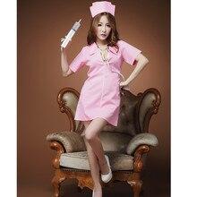 Hot lingeries Women Sexy Nurse Costumes Nightclub wear dress Exotic Apparel Sexy