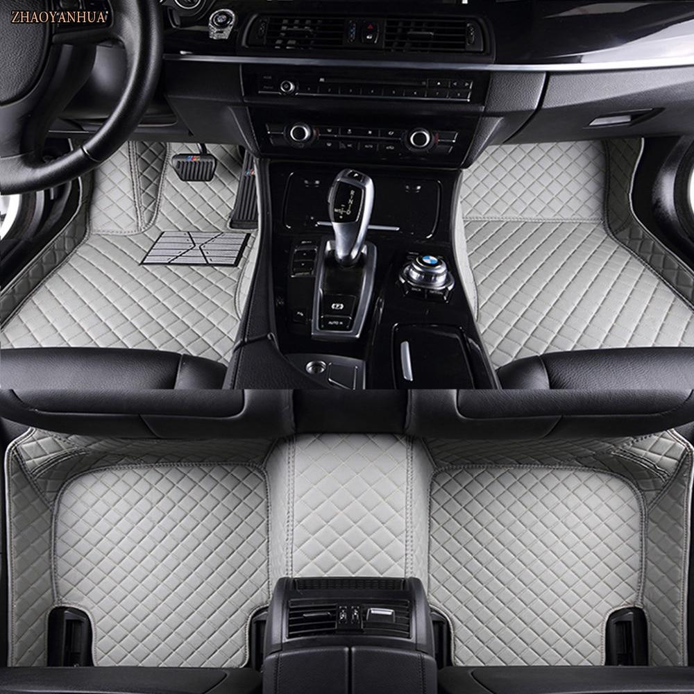 ZHAOYANHUA car floor mats for Mercedes Benz A B180 C200 E260 CLA G GLK300 ML S350/400 class 5D car styling carpet floor linerZHAOYANHUA car floor mats for Mercedes Benz A B180 C200 E260 CLA G GLK300 ML S350/400 class 5D car styling carpet floor liner