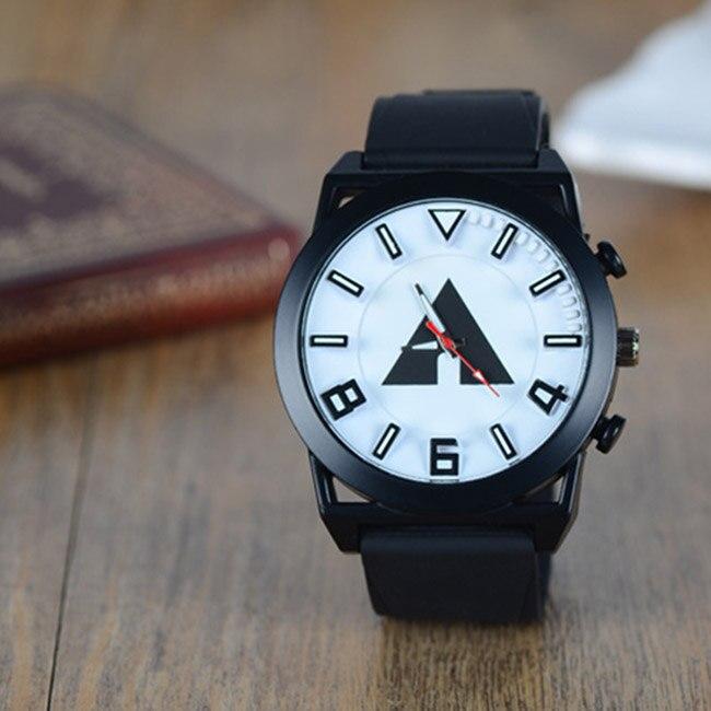 где купить 2017 New Quartz Watch Men Women Fashion Silicone Wristwatch Analog Big Dial Brief mujer Watches Casual Relojes female clock по лучшей цене