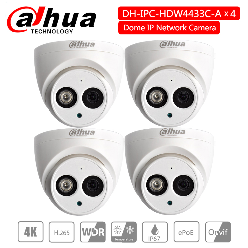 Dahua 4MP POE IP67 H.265 Built-in Mic IPC-HDW4433C-A replace IPC-HDW4431C-A Dome IP Camera dome Network Camera HDW4433C-ADahua 4MP POE IP67 H.265 Built-in Mic IPC-HDW4433C-A replace IPC-HDW4431C-A Dome IP Camera dome Network Camera HDW4433C-A