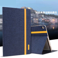 Luxury Silicon Cloth PU Leather Case For New IPad Pro 10 5 2017 Tablet Smart Case