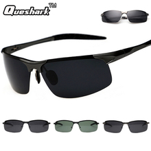 Professional Military Polarized Cycling Sunglasses Men Outdoor Sports Retro Hiking Eyewear Classic Half Frame Driving Glasses